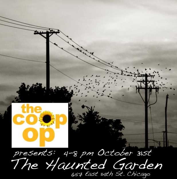 Haunted Garden Flier