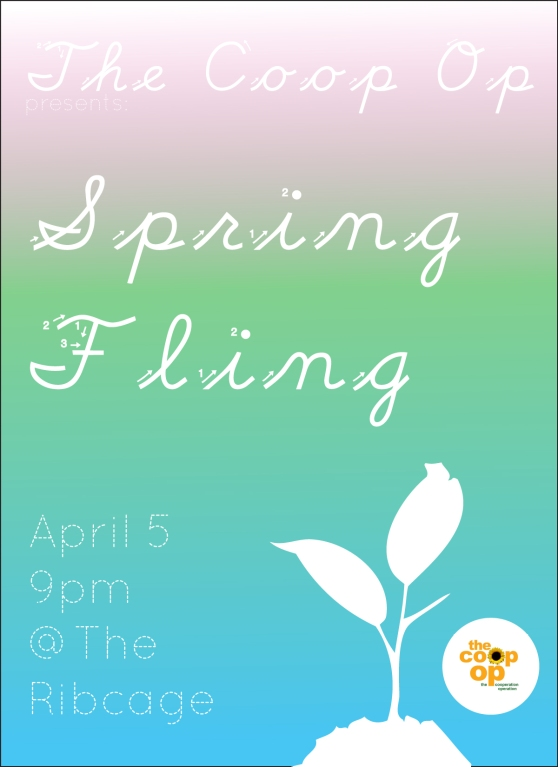 The Cooperation Operation Presents: Spring Fling